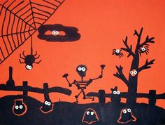 Artsonia is a kids art museum where young artists and students display their art for other kids worldwide to view. This gallery displays schools and student art projects in our museum and offer exciting lesson plan art project ideas. Halloween Eyeballs, Holidays Halloween, Halloween Crafts, Halloween Games, Halloween Ideas, Holiday Crafts, Happy Halloween, Holiday Ideas, Third Grade Art