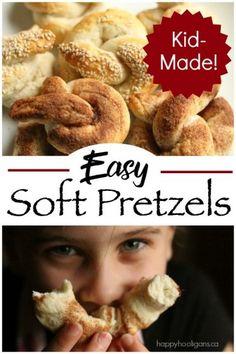 Homemade Soft Pretzels Recipe - Easy and Delicious