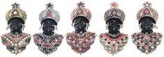 Broche con cabecita en cristales y perlas en color oro y plata en www.sonatachic.com #etnico #pulseras #cool #ethinc #sonata #chic #bisuteria #snt #moda #fashion #tendencia #collares #gargantillas #anillos #outfits #complementos #cubrebotas #joyas #broches #tobilleras  #bolsas #expositores #llaveros #accesorios #pelo #gemelos #metal #colgante #cristal #promociones #buscatuestrella #descuentos #online