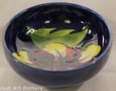 Moorcroft Pottery Hibiscus Bowl from Just Art Pottery