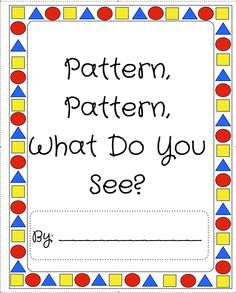 AABB Pattern   Activities, Kid and For kids