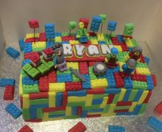 lego minecraft Piece of cake Pinterest Lego minecraft and Cake