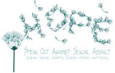 Sexual Assault / Rape Awareness Custom T Shirt - Dandelion Hope