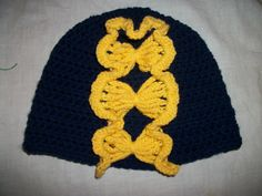 Crochet Butterfly Hat Bobcats Colors