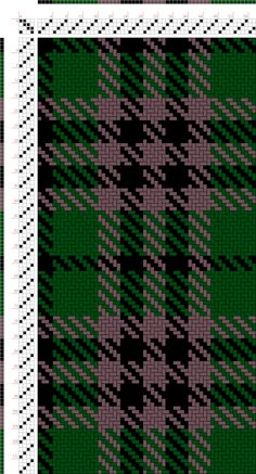 draft image: Austin WI (BK4, G12, PU6, BK6, PU6), Scottish and Other Tartans Collection, 4S, 4T