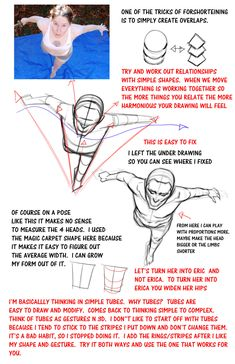 Notes for foreshortening with ERIC by FUNKYMONKEY1945 on DeviantArt