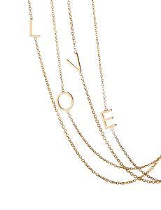lovely Letter Necklace