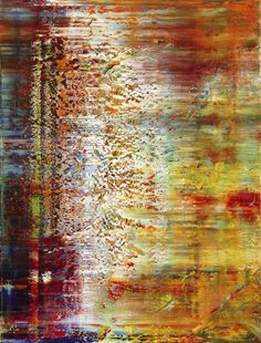 Gerhard Richter ~ Abstract Painting, 1991