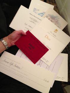 Tickets to paris haute couture shows