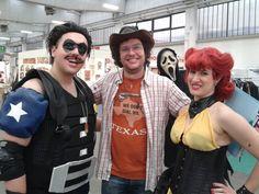 Con il Comico e Spettro di Seta #Watchman