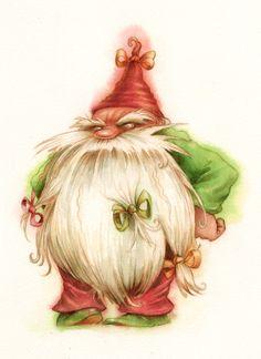 Christmas  Gnome >>> mouahahaaa ! il me fait bien rire celui là  !