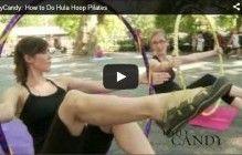 Hula hoop+Pilates=Hoopilates!