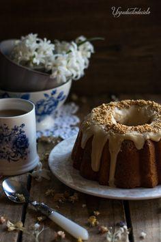 un pedacito de cielo: Bundt Cake de queso y chips de caramelo
