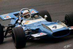 Jackie Stewart 1969 - Matra MS 80