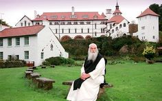 The Cistercian Monastry, Caldey Island, West Wales Wales Country, Wales Uk, Story Of The World, Europe Destinations, Small Island, Beautiful Places To Visit, Pilgrimage, Heritage Site, Scenery