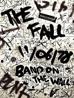 The Fall. 'The idea for the project was inspired by my love of Manchester acts such as the Smiths, Joy Division and John Cooper Clarke, and how there is something about the influential music of Manchester which has a timeless quality, making it feel as relevant today as ever.'