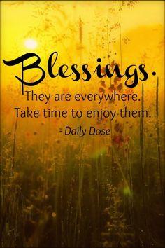 <3 Autumn Blessings