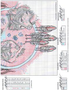 wolf shield wolf shield native american cross stitch chart2