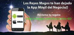 Los #ReyesMagos te han dejado la #AppMovil del #Negocio!! Reclama tu regalo: http://miappx.com/descuento-60/ 🎆📲