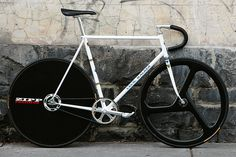 Beautiful Bicycle: 531 Cecil Walker Track with Zipp Wheels | Flickr - Photo Sharing!