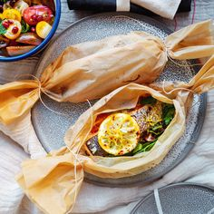 Recipe: Vanessa Fletcher's trout parcels for two...