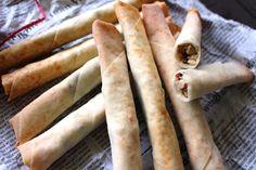 材料3つ!3STEP!揚げない!チョコとナッツの春巻きパイスティック |YU ru RI ~セミベジタリアンyuriのごはんとお菓子~