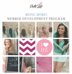 Delta Zeta will be launching our new program, the Being More! Member Development Program at the 2014 National Convention. Find out more during the educational sessions on Saturday, July 12. http://deltazeta.org/aboutus/2014nationalconvention/conventionprogramdescription