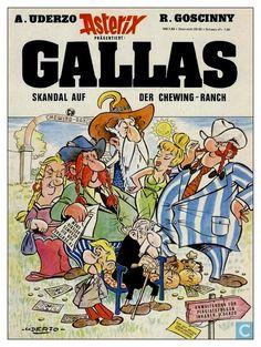 Asterix parodié Superman, Batman, Vintage Comic Books, Vintage Comics, Caricatures, Asterix E Obelix, Albert Uderzo, Science Fiction, Jordi Bernet