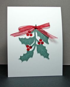 Have A Holly, Jolly Christmas by Cindy H. - Cards and Paper Crafts at Splitcoaststampers