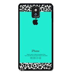 Leopard Pattern Apple Mint Samsung Galaxy S3 S4 S5 Note 3 Case