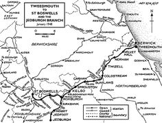 Disused Stations: Coldstream Station Gemma Christina Arterton, Train Map, Model Railway Track Plans, Scotland History, Disused Stations, Old Train Station, North East England, Bicycle Girl, Writers Write