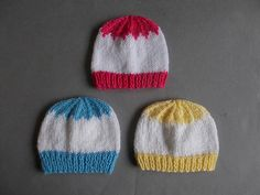 Ravelry: Spring Day Baby Hat pattern by marianna mel**
