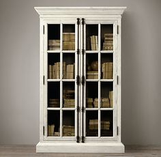 """FRENCH CASEMENT CABINET $1495 - $1795 Our classic cabinet features a soft, weathered finish that has the look of driftwood. Show product details... DIMENSIONS 38""""W x 19""""D x 77""""H; 200 lbs. 38""""W x 19""""D x 91""""H 49""""W x 19""""D x 77""""H; 212 lbs. 49""""W x 19""""D x 91""""H; 251 lbs."""