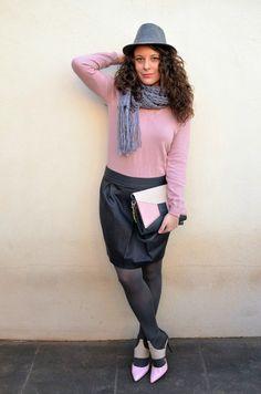 Mi Vestido Azul | Fashion Blogger | Blog de moda | Castellón : Pastel winter #kissmylook