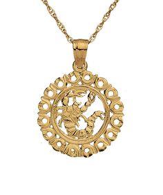 Scorpio necklace by Maya Brenner. Love!