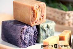 Use milk cartons as soap molds and you from How to Make All Natural Cold Process Soap