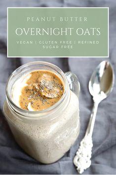 Best Recipe for Creamy Overnight Oats  #oats #vegan #healthy #breakfast