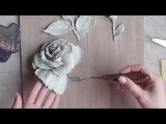 Sculptural painting, how to make.. - YouTube