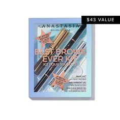 Eyebrow Makeup & Brow Makeup | Anastasia Beverly Hills Eyebrow Kits, Eyebrow Makeup, Eyebrow Stamp, Eyeliner, Makeup Sale, Makeup Kit, Best Brow Kit, Bad Eyebrows, Anastasia Beverlyhills