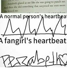 Lol, but true...we fangirls are crazy