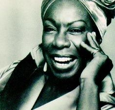 Nina Simone  -a little sugar in my bowl... a little steam on my clothes... ~e
