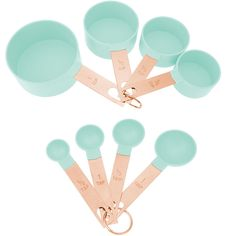 Make your kitchen and dining experience great with the 9 PC BLUE MEASURE SET. You can purchase this, and find other affordable Mixing Bowls & Measuring Cups, at your local At Home store. Mint Kitchen, Rose Gold Kitchen, Kitchen Stuff, Lavender Kitchen, Kitchen Pantry, Kitchen Utensils, Kitchen Gadgets, Kitchen Tools, Slushy Maker