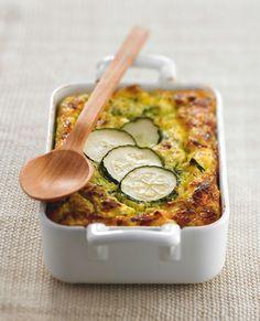 Gratin de courgette à la féta - Gourmand : recettes de cuisine