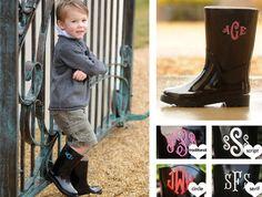 Mono children's rain boots...presh!