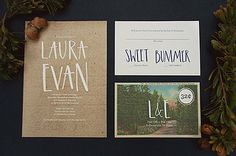 AllieRuth calligraphy invitation