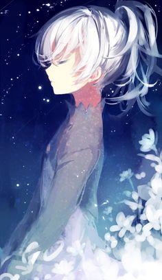 White Night Girl