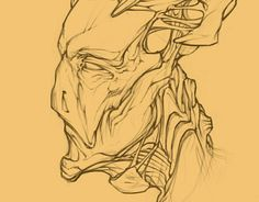 """Check out new work on my @Behance portfolio: """"Head"""" http://on.be.net/1gvGjMJ"""
