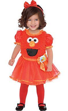 baby elmo tutu dress sesame street - Halloween Costumes Elmo
