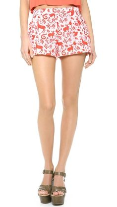 Carolina K Printed Shorts