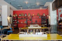 Hugo Restaurant, The Office, Bar Cart, Furniture, Home Decor, Cosmopolitan, Homemade Home Decor, Bar Carts, Home Furnishings